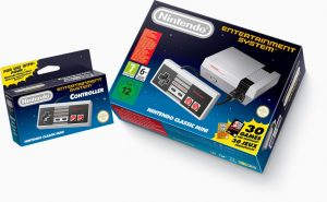 Foto von der Controller Packung NES Mini Classic