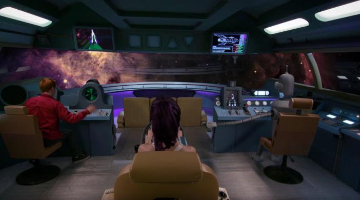Screenshot aus dem Real Life Futurama Fanprojekt Fan-O-Rama