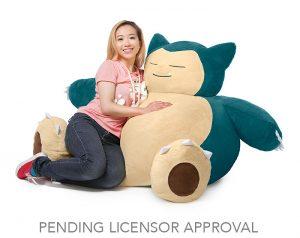 Foto einer Frau auf ThingGeek Relaxo Sitzsack
