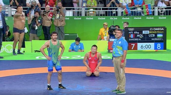 Mongolischer Trainer Olympia 2016