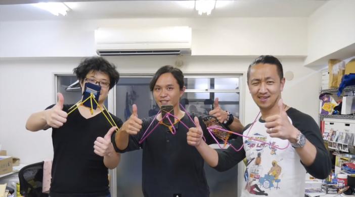 Screenshot aus DIY Video mit Pokemon GO Kleiderbuegeln