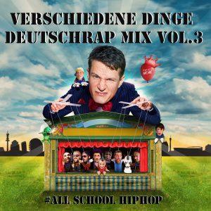 Cover Falk Schacht - Verschiedene Dinge - Deutschrap Mix Vol.3