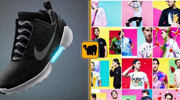 Fotocollage Nike HyperAdapt und HYPE x Pokemon