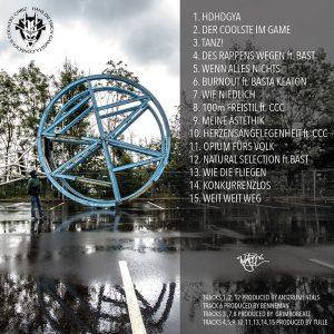 """Cover zum Mixtape """"So Gangsta Wie Geht"""""""