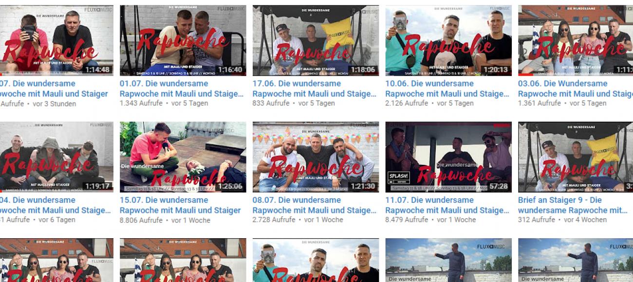 BoomFM – Die wundersame Rapwoche mit Mauli und Staiger endlich online