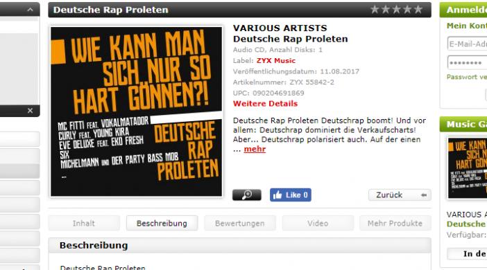 Quelle: http://www.zyx.de/Musik/Black/Rap-Hip-Hop/Deutsche-Rap-Proleten-12220.html?XTCsid=897aa7a8ace495473e65139d652f4770