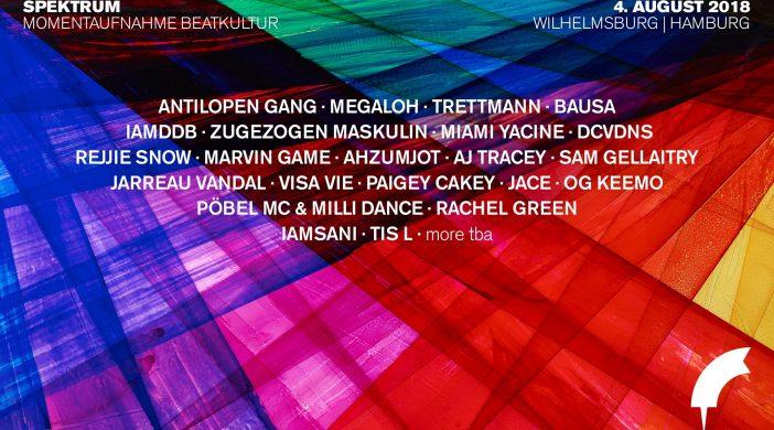 Banner Spektrum Festival 2018