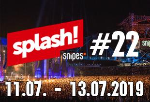 Alle Acts zum splash! Festival 22 im Überblick