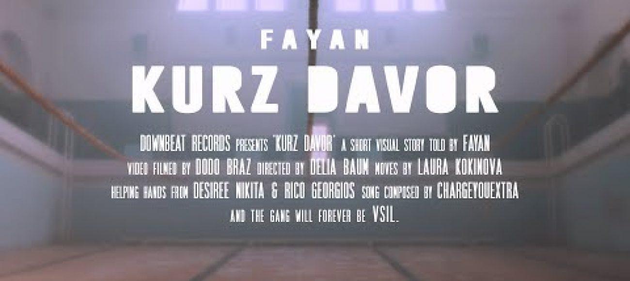 Fayan ~ Kurz Davor